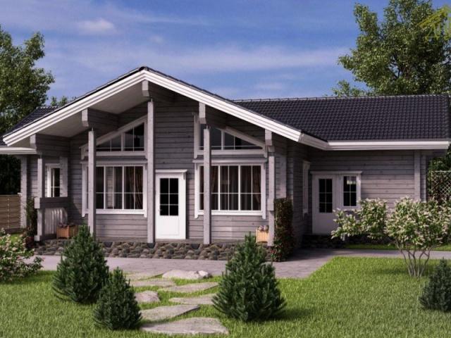 Строительство домов из клееного бруса – первый шаг к счастливой жизни