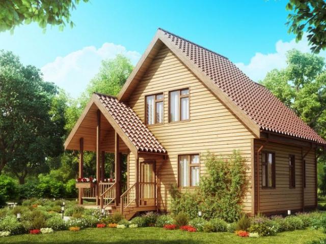 Строительство домов из клееного бруса - как подойти с умом