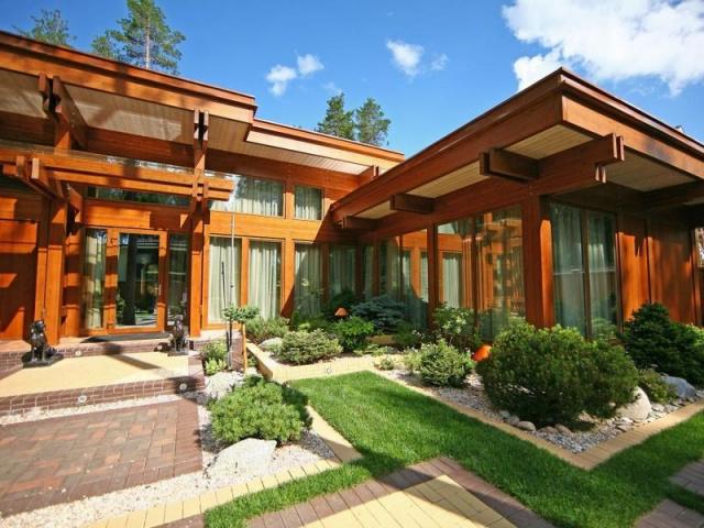 Фахверковые дома в стиле «Pagano»